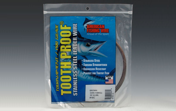 American Fishing Wire Stainless Steel Leader #12C