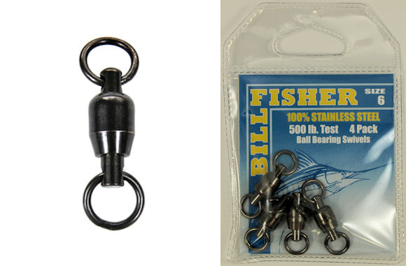 Billfisher Ball Bearing Swivels BBS Ball Bearing Swivels, Billfisher Swivels, Billfisher Ball Bearing Swivels