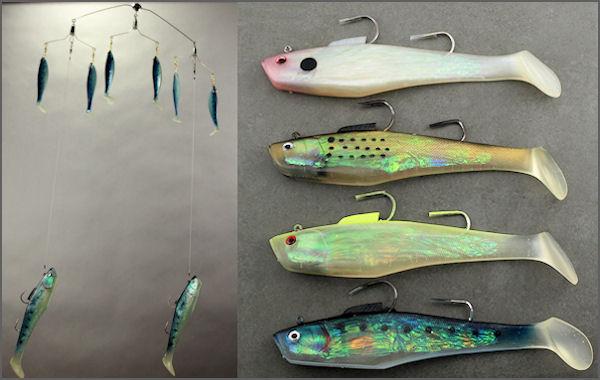 Chesapeake spreader bars for Spreader bar fishing