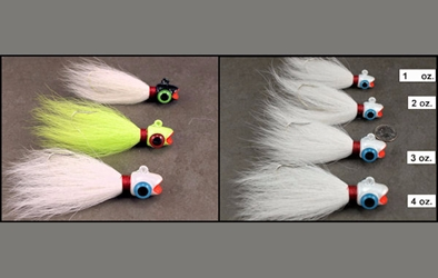 Ruby Lip Bucktails