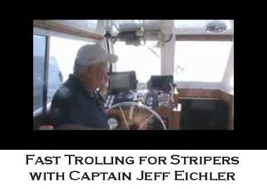 Fast Trolling for Stripers with Captain Jeff Eichler