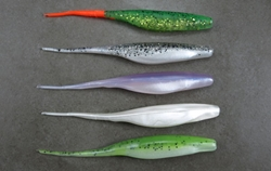 "Bass Assassin - Shad Assassin 5"" 10 Pack"