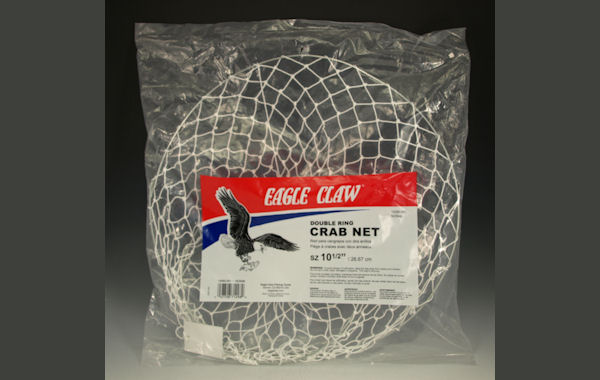 Eagle Claw 10060-001 Double Ring Crab Net Crab Nets, Crabbing, Crabbing Supplies