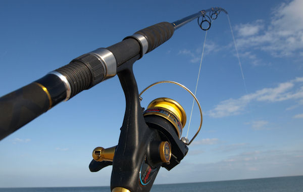 Surf Rod-Reel Combo-Two Left! Striper Surf Rods, Rockfish Surf Rods, Surf Combos, Surf Rods