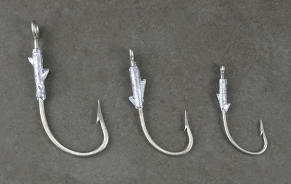 Weightless Jigs Striper Jigging, Jigging Plastics, Rockfish Jigging