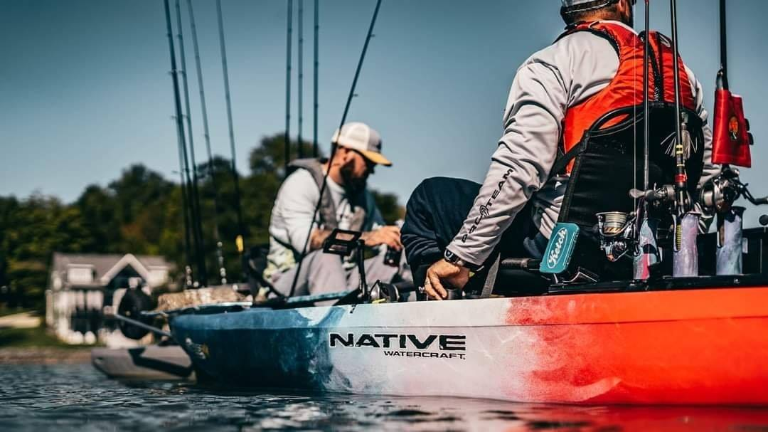 Native Watercraft Slayer Max12.5 Liberty Edition ONLY 1 Left! Slayer 12.5Max Special Edition Liberty, Slayer Max12.5, pedal drive fishing kayak, fishing kayak