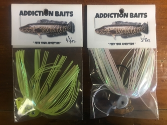 20% Off! Addiction Baits Snakehead Lure 3/8 Oz.