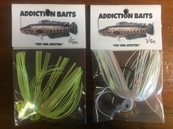 On Sale! Addiction Bait Snakehead Lure 1/4 oz.